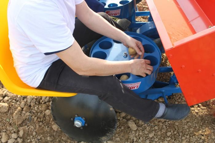 Säemaschine für Kartoffeln FPM