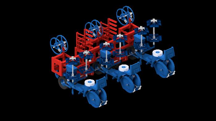 Mechanische Pflanzmaschine FMAX