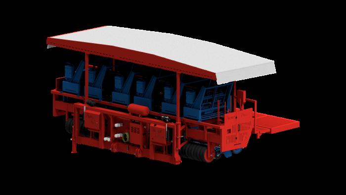 Автоматическая рассадопосадочная машина FUTURA TWIN