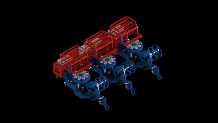 Mechanische Pflanzmaschine MULTIPLA